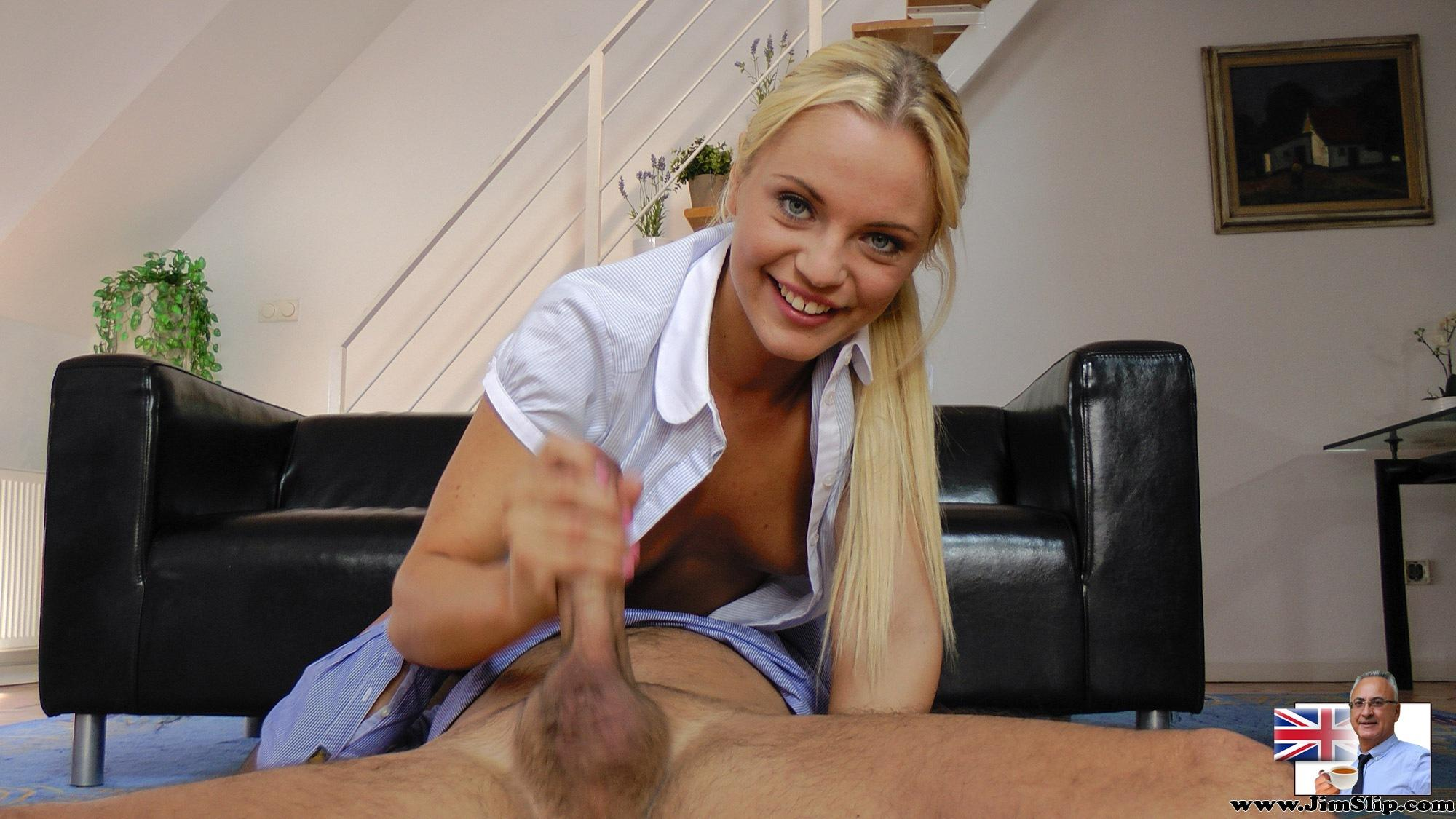 Classy business woman having afternoon sex